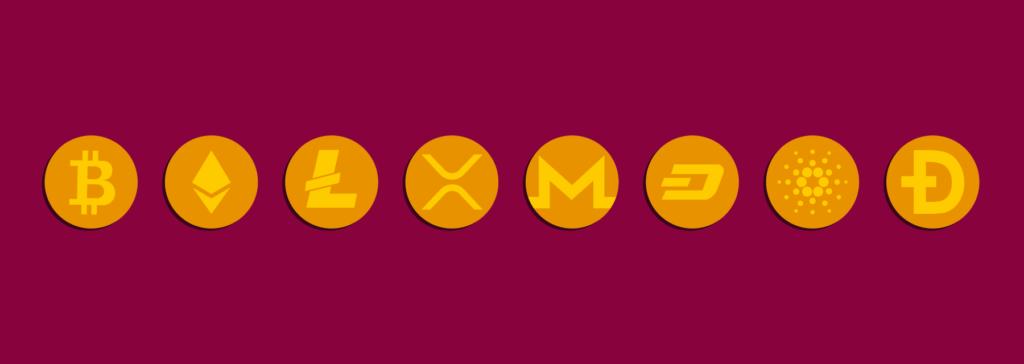 Vilka olika typer av kryptovalutor finns det?